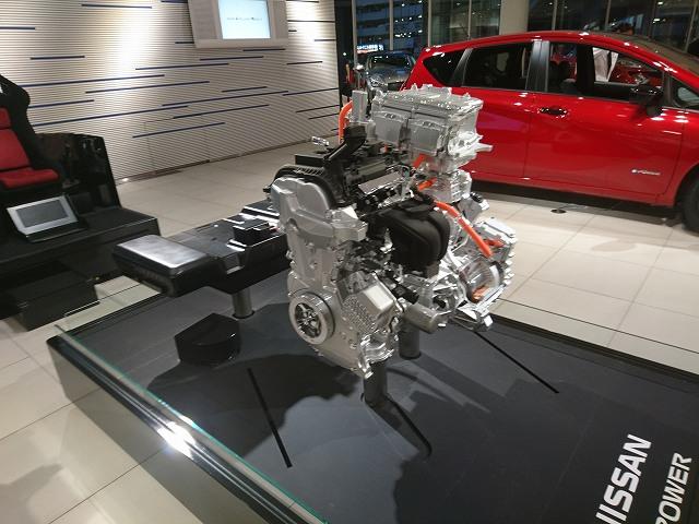 セレナe-POWERのエンジン